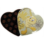 Looney Tunes Heart shaped Tin Chocolate 100g / 翠儿心形铁盒巧克力100g(三款颜色)