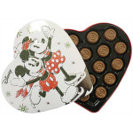 Mickey Heart Shaped Tin Chocolate 100G / 米奇盒装巧克力 100克