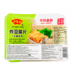October Wing Fried Bean Curd Sheet 150g / 十月舫 炸豆腐片 150克