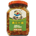 Fan Sao Guang Preserved Mustard Mix 350g / 饭扫光 黄花什锦 350克