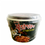 Samyang Instant Toppoki Rice Cake With Hot Chicken  Flav. 185g / 三养 火鸡年糕 185克