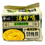 Baixiang Instant Noodles W. Chicken Soup Flav. 5x111g / 白象 汤好喝系列 鸡汤面 5袋装
