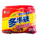 Baixiang Instant Noodles With Roasted Beef Flav. 5x143g / 白象 红烧牛肉面 5袋装