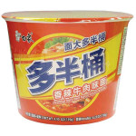 BAIXIANG Instant Bowl Noodles with Spicy Beef Flav. 139g / 白象 香辣牛肉味 碗面