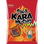 Koikeya Karamucho Potato Chips Ridge Cut Hot Chilli 60g / 日式波浪辣味薯片 60g