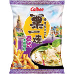 Calbee Thai Green Curry Flav. Grill A Corn 60g / 卡樂B 栗一燒 泰式青咖喱味 60克