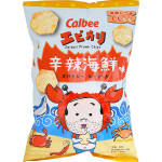 Ebikari Spicy Seafood Flavoured Prawn Chips 50g / 辛辣海鲜味虾片 50克