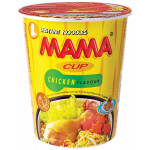 Mama Instant Cup Noodles Chicken Flavour 70g 妈妈即食鸡杯面