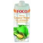 Foco Coconut Water With Pineapple 500ml