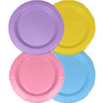 Peter's Dessert Plates Various Colors (50x)