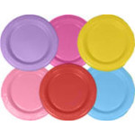 Peter's Plates 23cm Various Colors (25x)