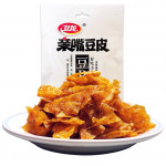Wei Long Soybean Sheet (Spicy Flavour) 60g / 卫龙亲嘴豆皮 60克