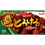 S&B Home Style Curry Extra Spicy175g / 日本家庭风味咖喱 中辣 175克