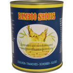 Globe Bamboo Shoots Sliced 850g 地球竹筍片