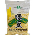 Golden Chef Mung Bean Without Skin 400g / 金厨牌 去皮绿豆 400克