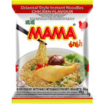 Mama Inst. Noodle Chicken 55g / 妈妈鸡味面 55克