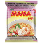 Mama Inst. Noodle Tom Yum Shrimp 60g 媽媽酸辣蝦麵