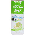 Pokka Melon Milk Drink 240ml / 粒粒蜜瓜汁 240毫升