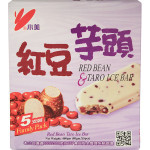 Shao Mei Red Bean & Taro Ice Bar 5x80g