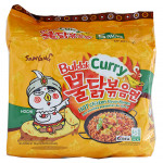 Samyang Instant Hot Chicken Ramen Curry 5x140g / 三养 咖喱味火鸡面 5x140克