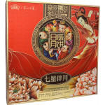 Riwei Seven Stars Mooncake Gift Box (5 Flavours) 810g / 日威七星伴月