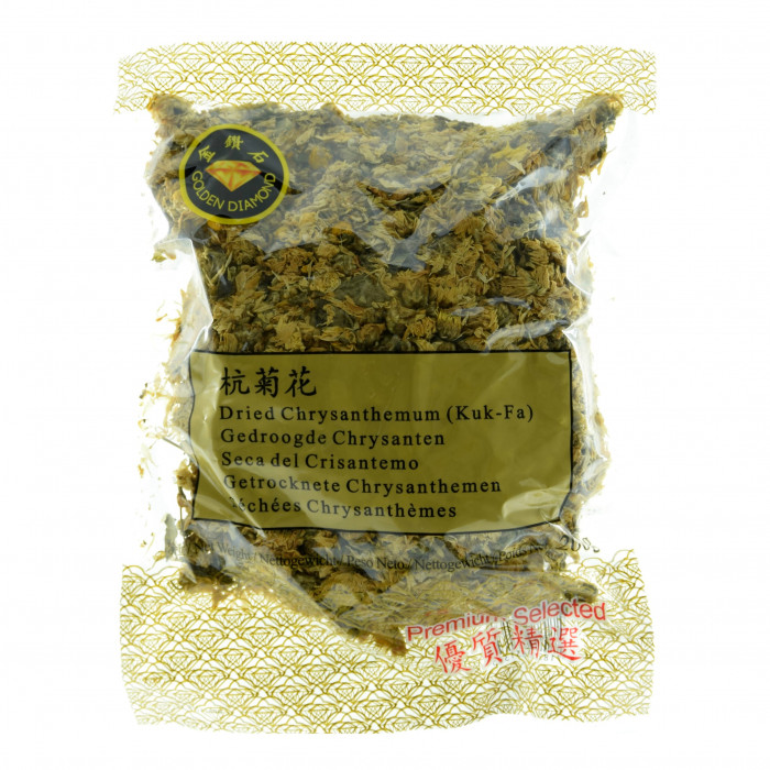 金钻石干菊花 200克 / Golden Diamond Dried Chrysanthemum Kuk Fa 200g