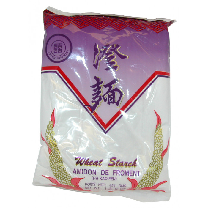 雙喜澄麵 454g / Double Happiness Wheat Starch 454g