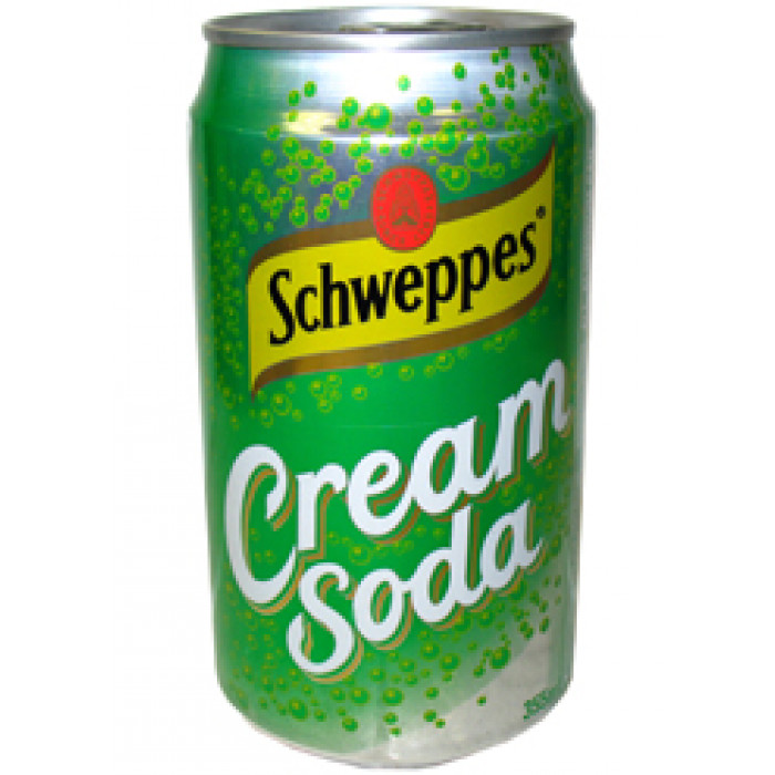 奶油苏打饮料 330ml / Schweppes Cream Soda 330ml