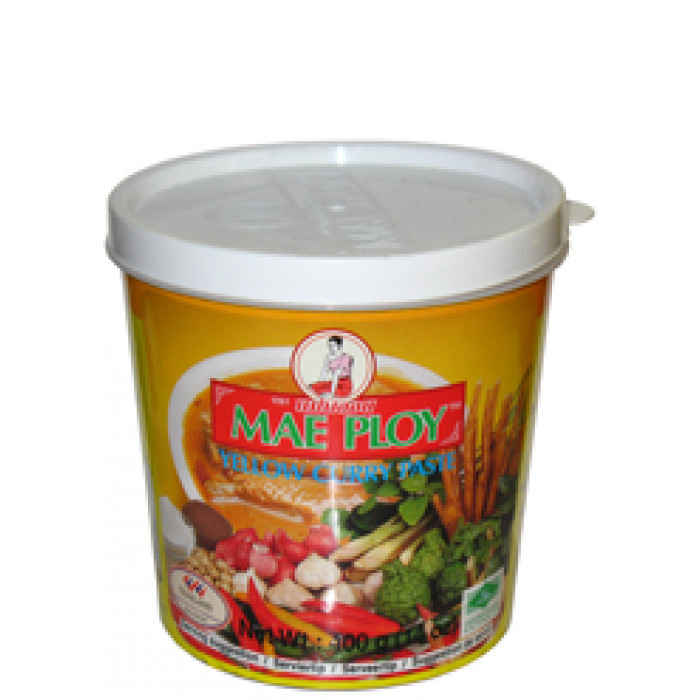 泰国黄咖喱酱 400g / Mae Ploy Yellow Curry Paste 400g