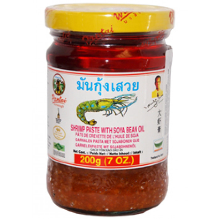 大虾膏 200g / Pantainorasingh Shrimp Paste With Soya oil 200g