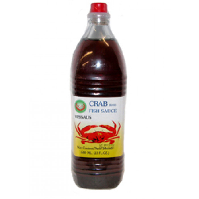 泰国鱼露 680ml / X.O. Fish Sauce Crab pvc 680ml