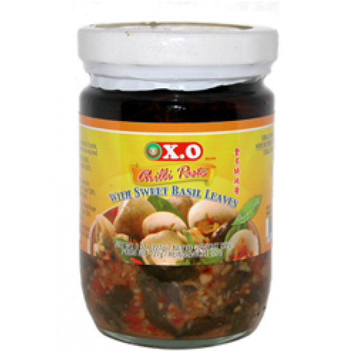 甜蓬蒿叶甜辣酱 200g / XO Chilli Paste With Sweet Basil Leaves 200g