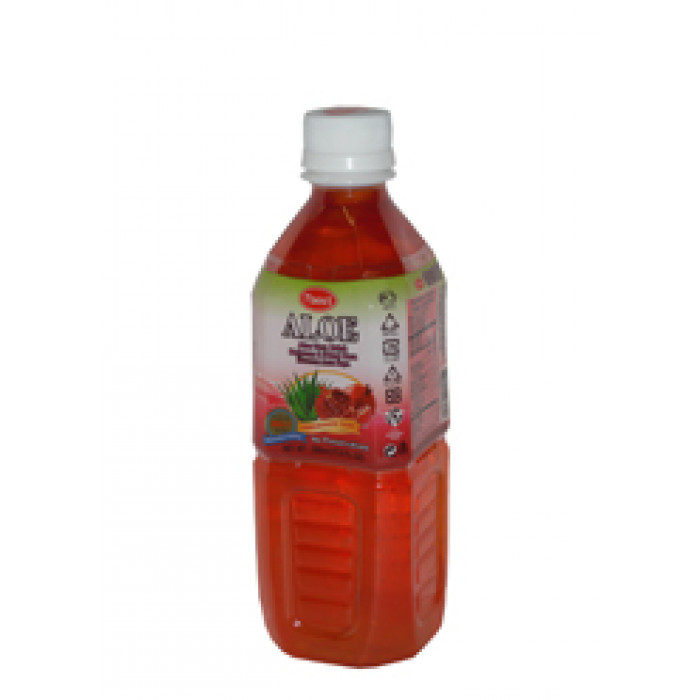 石榴口味芦荟汁 500ml / T' Best Aloe Vera Drink Pomegranate Flav. 500ml
