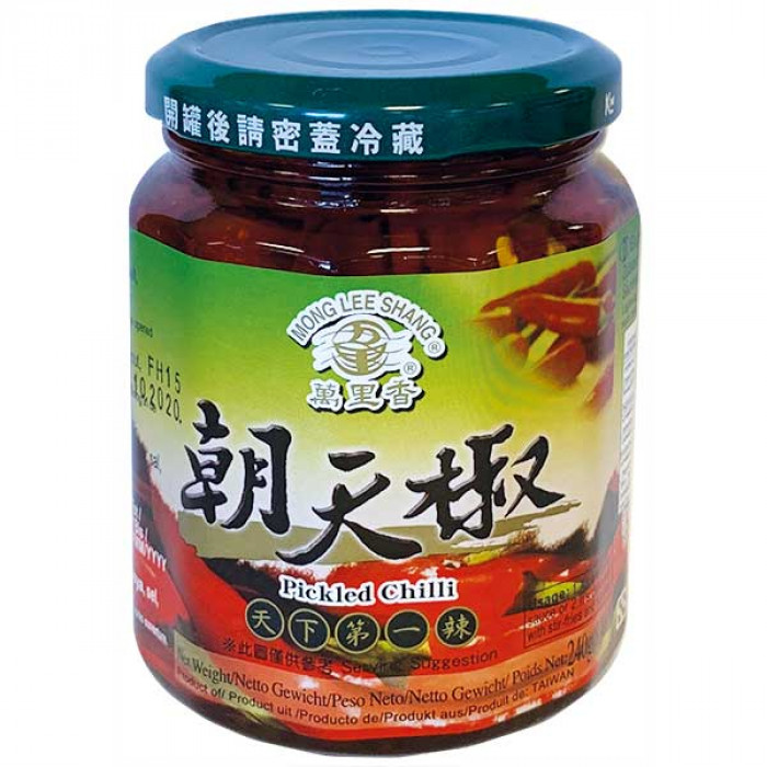 万里香朝天椒 240g / Mong Lee Shang Pickled Chilli 240g