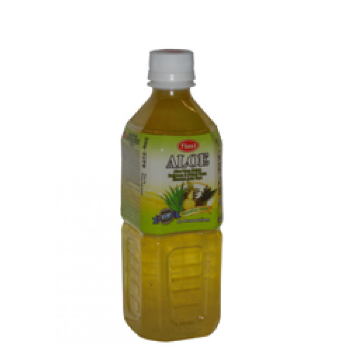 凤梨口味芦荟汁 500ml / T' Best Aloe Vera Drink Pineapple Taste 500ml