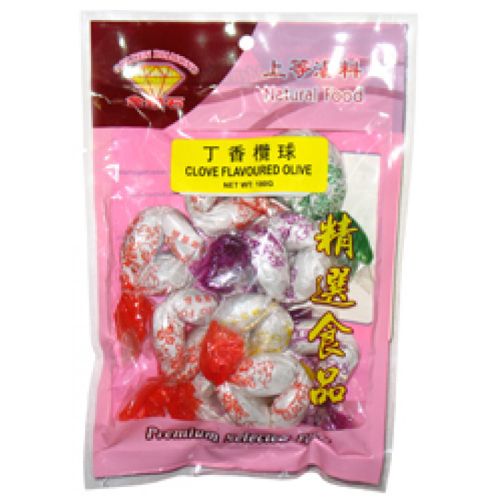 丁香檻球 180gr / Golden Diamond Preserved Clove Olive 180gr