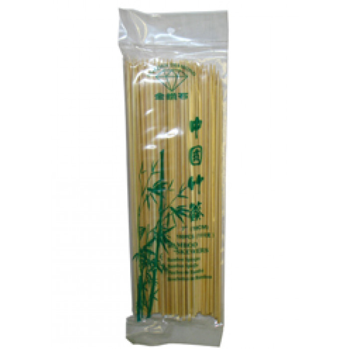沙爹骨 100pcs 18cm / Golden Diamond Bamboo Sticks 18cm 100pcs
