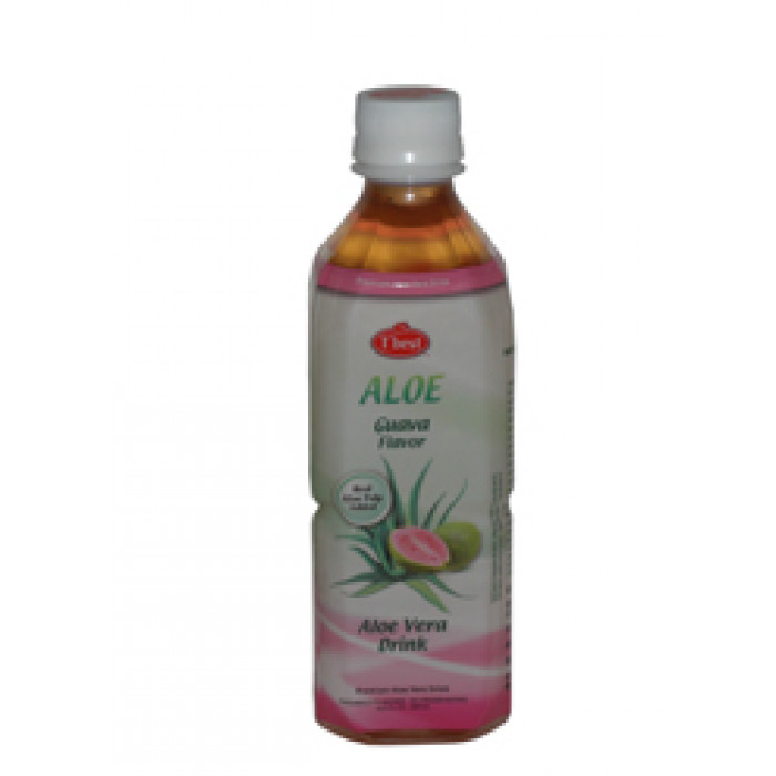 石榴口味芦荟汁 500ml / T' Best Aloe Vera Drink Guava Flav. 500Ml