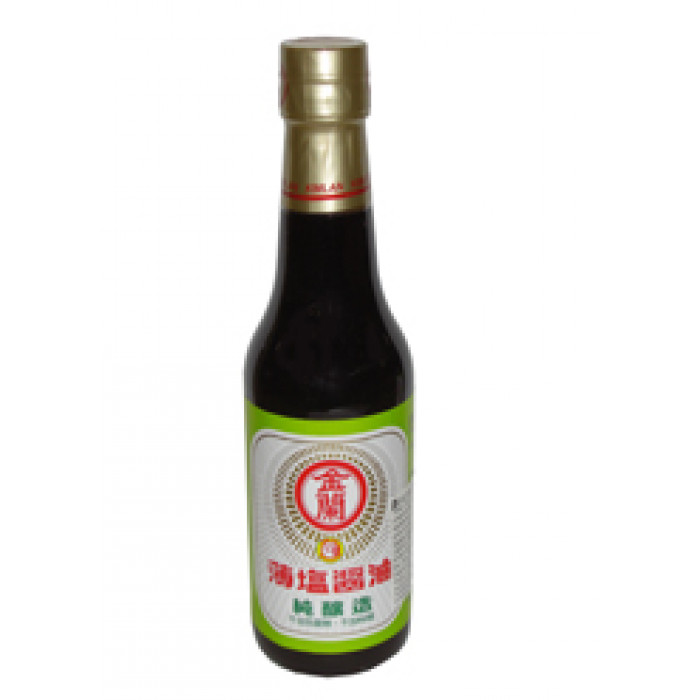 生抽(盐制) 500ml / Kimlan Light Salt Soy Sauce 500ml