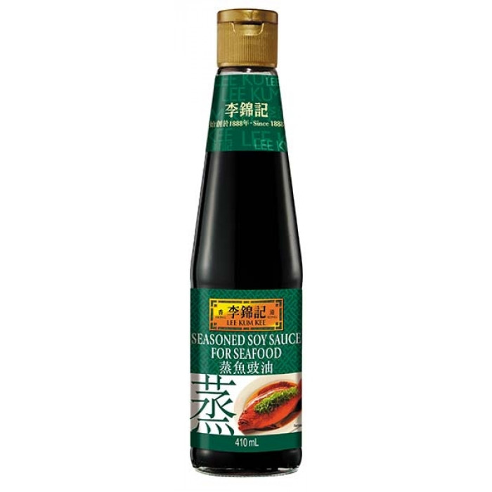 李锦记蒸鱼酱油 Lee Kum Kee Seasoning Soy Sauce Fish 410ml