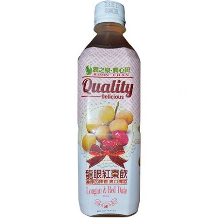 Ruhn Chan Longan & Red Date Drink 480ml