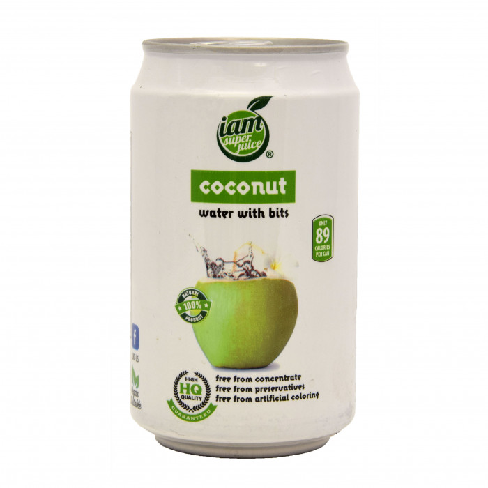 I'am Superjuice Coconut Water With Bits 330ml