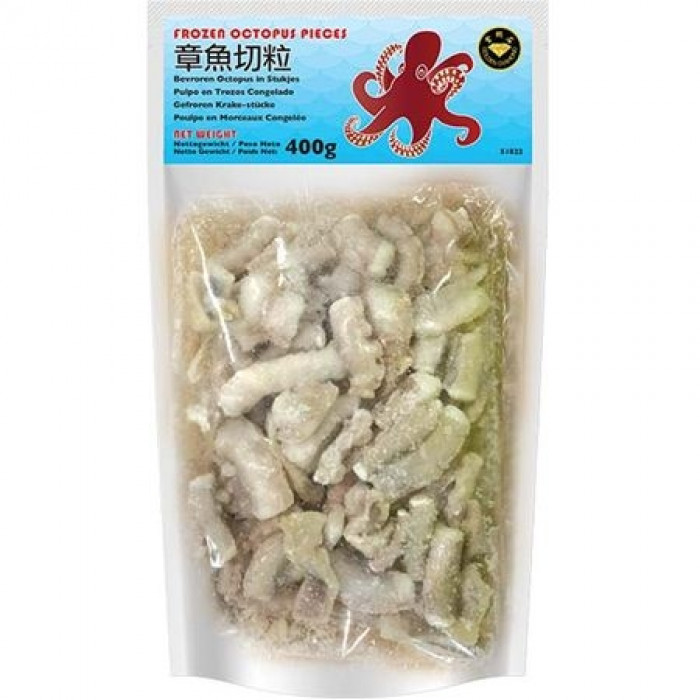 Golden Diamond Frozen Octopus Pieces 400g 金钻石速冻章鱼切粒