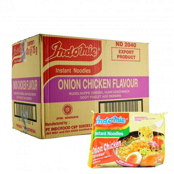 洋葱鸡肉味方便面 75gX40 / Indomie Instant Noodles Onion Chicken Flavour 75gX40