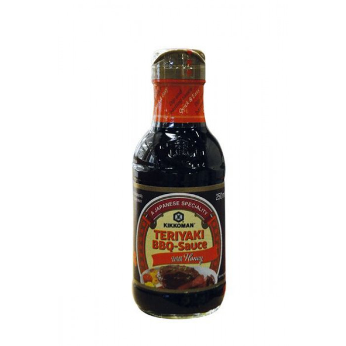 蜂蜜烤肉酱 250ml / Kikkoman Teriyaki BBQ Sauce With Honey 250ml