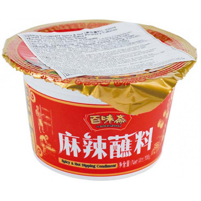 百味斋麻辣蘸料麻辣火锅酱料 100g / Bai Wei Zhai Spicy & Hot Dipping Condiment 100g
