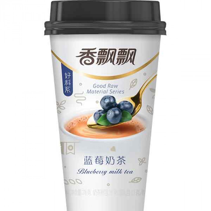 香飘飘奶茶 蓝莓味 80g / XIANG PIAO PIAO Milk Tea Blueberry Flav. 80g