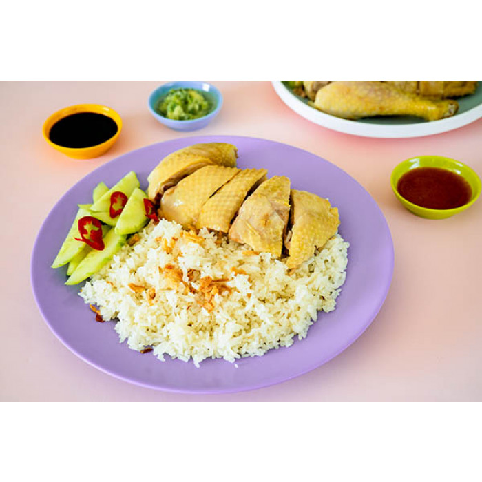 海南鸡饭 / Hainanese Chicken Rice