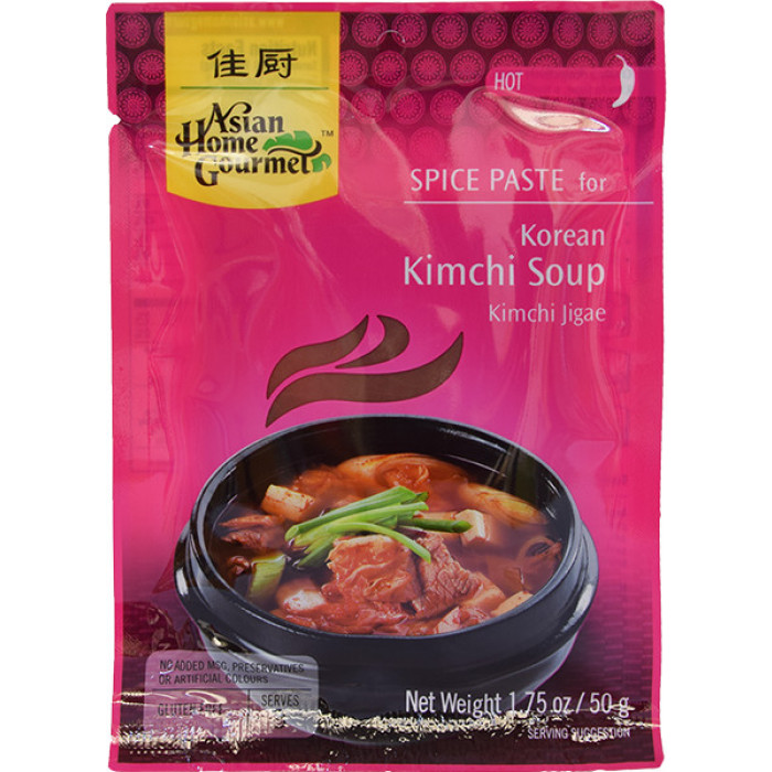 Asian Home Gourmet Spice Paste for Korean Kimchi Soup 50g