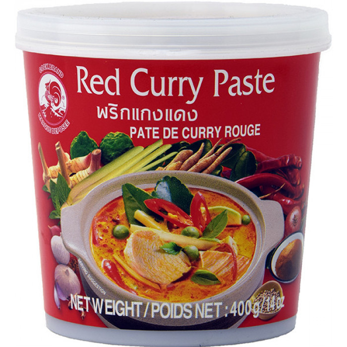 Cock Red Curry Pasta 400g